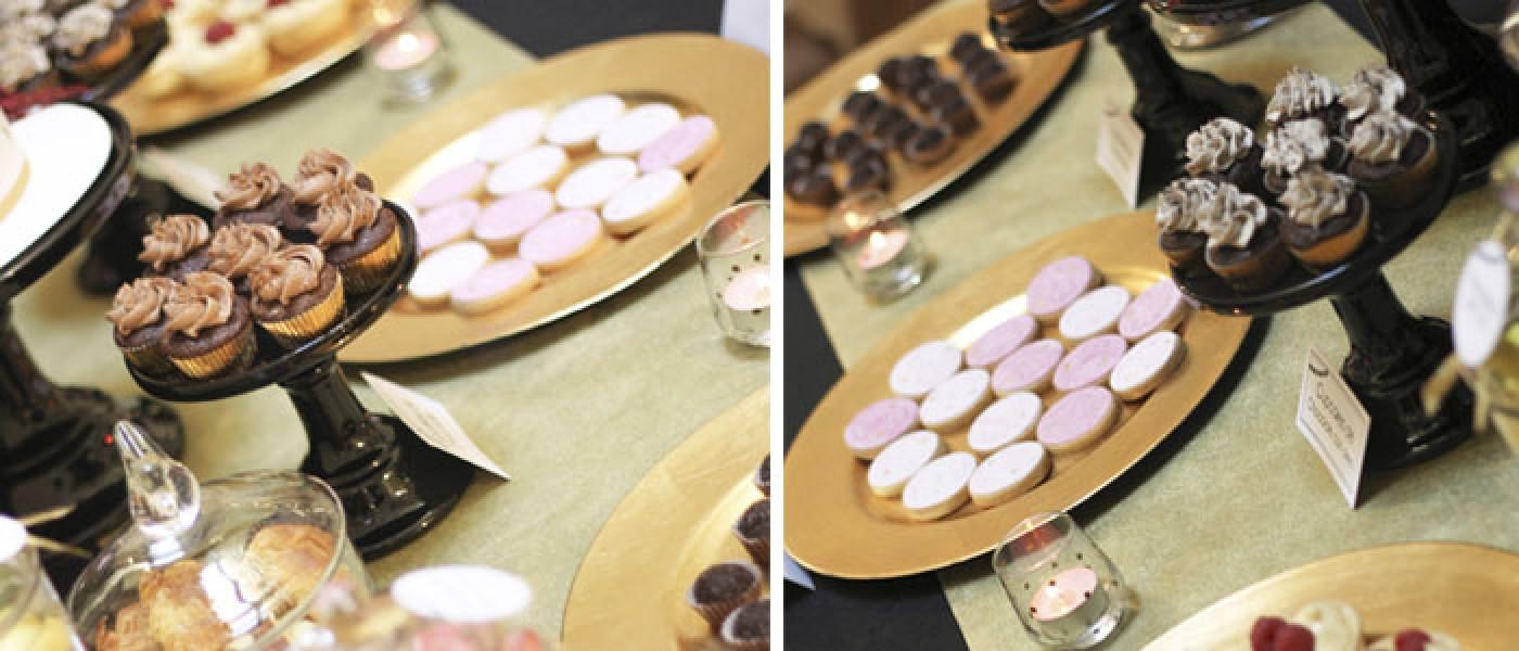 Mesa de dulces para Bodas - E&J
