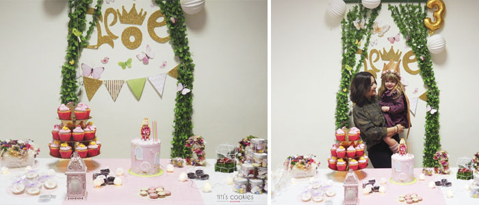 Mesa de dulces Princesa