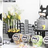 Mesa de dulces Batman